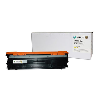 LINKYO Replacement Yellow Toner Cartridge for HP 651A CE342A