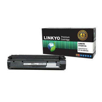 LINKYO Replacement Black Toner Cartridge for HP 13A Q2613A