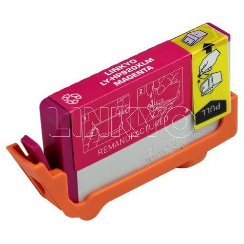 LINKYO Replacement Magenta Ink Cartridge for HP 920XL