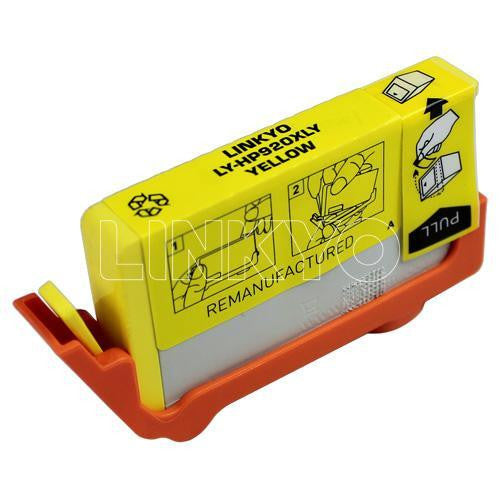 LINKYO Replacement Yellow Ink Cartridge for HP 920XL