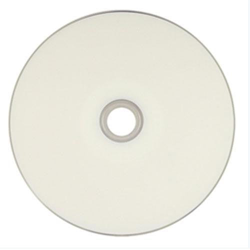 Ritek Ridata (DRD-47-8X-RDIW50N2) 8X DVD-R White Inkjet Metalized Hub Printable Media - 50 Pack