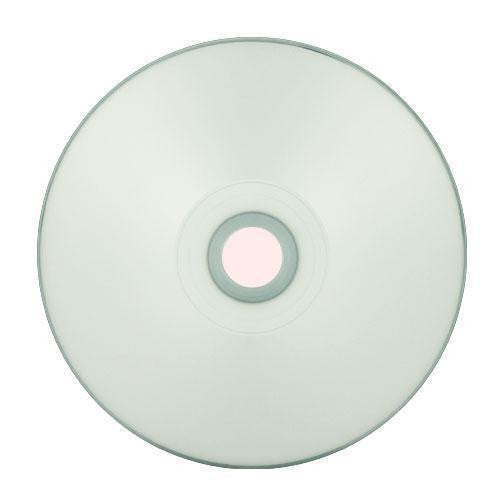 Titan (T5881190) Duplication Grade 52X CD-R Silver Inkjet Metalized Hub Printable Media - 100 Pack