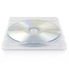 SuperMediaStore 10.4mm Premium Single Crystal Clear CD DVD Jewel Cases - 100 Pack