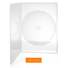 LINKYO 7mm Premium 100% New Material Single Clear CD DVD Cases - 100 Pack