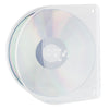 SuperMediaStore D-Shell Clear CD/DVD Case With 2 Hole Punch 50 Pack