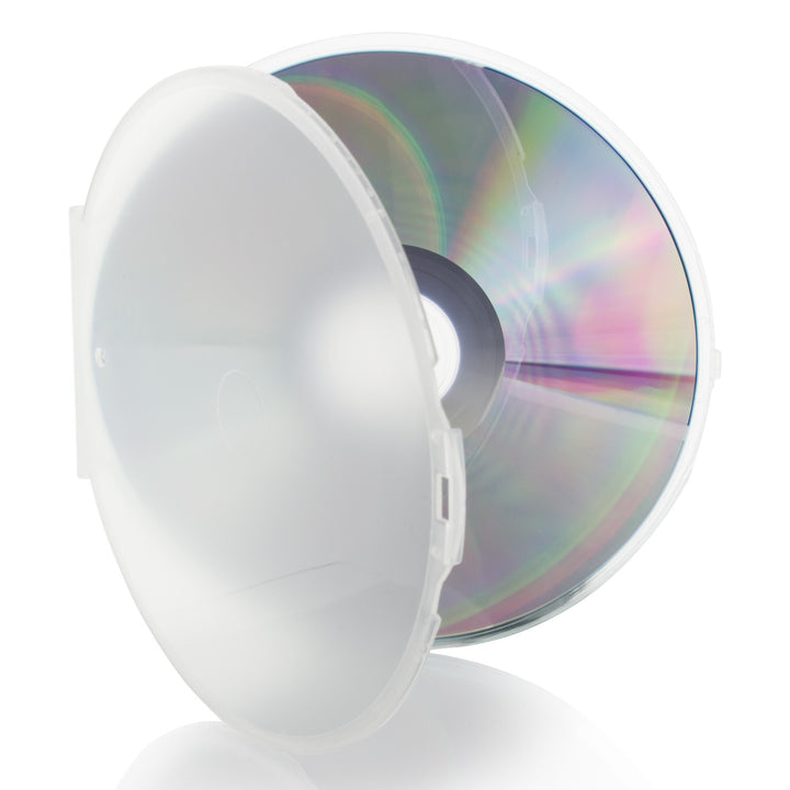 LINKYO 5mm Premium Single Clear CD DVD Clamshell Cases - 200 Pack