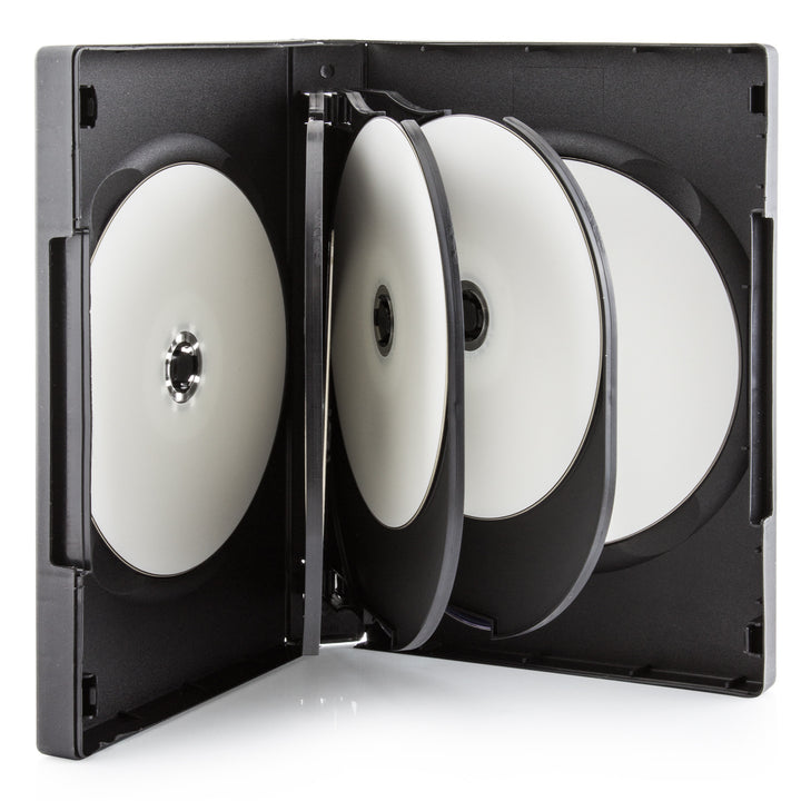 SuperMediaStore 27mm 8 Disc Black DVD Cases with 3 Trays 20 Pack  sc 1 st  Supermediastore.com & SuperMediaStore 27mm 8 Disc Black DVD Cases with 3 Trays 20 Pack ...