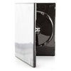 SuperMediaStore 14mm Premium 100% New Material Single Shiny Black CD DVD Cases - 100 Pack