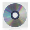 SuperMediaStore 5 x 5 inch Resealable Clear Plastic CD DVD Sleeves 100 Pack