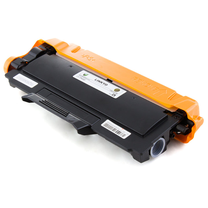 LINKYO Replacement Black Toner Cartridge for Brother TN420 (FREE Upgrade to High Yield TN450)