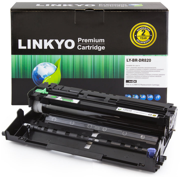 LINKYO Replacement Drum Unit for Brother DR820
