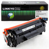 LINKYO Replacement Black Toner Cartridge for Canon 104
