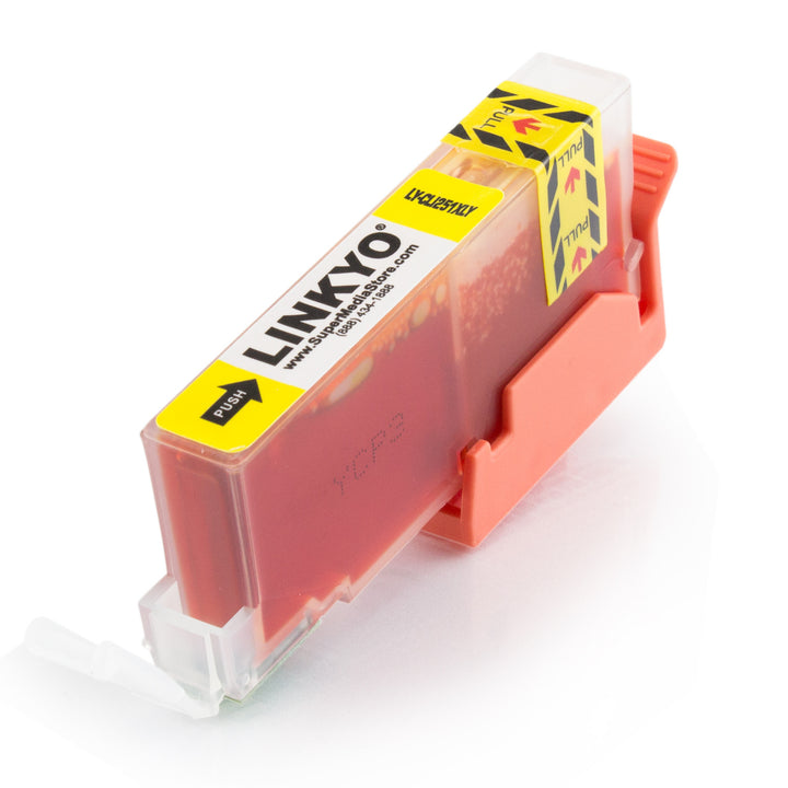 LINKYO Replacement Yellow Ink Cartridge Canon CLI-251XL