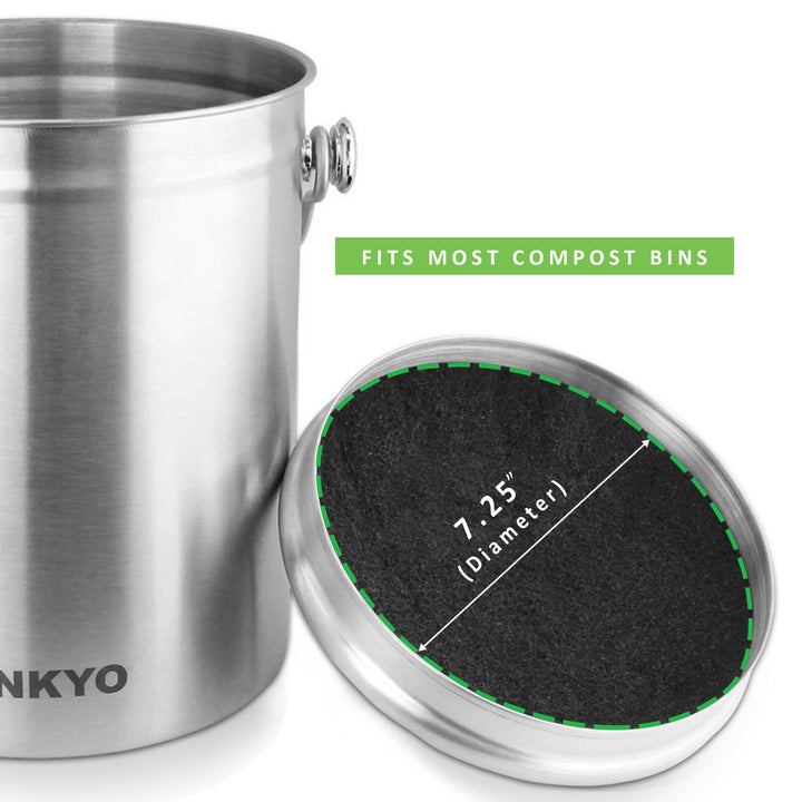 LINKYO Compost Bin Filters Refill Set (3-Pack)