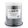 LINKYO 16X DVD-R Silver Inkjet Metalized Hub Printable Media - 100 Pack