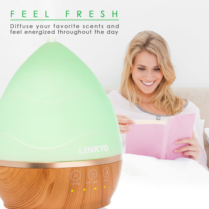 LINKYO Essential Oil Diffuser, 300ml