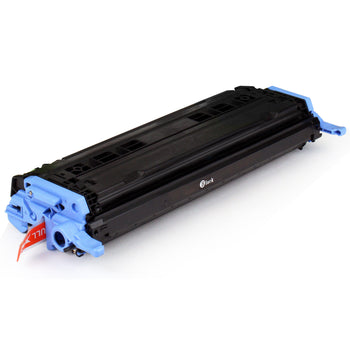 LINKYO Replacement Black Toner Cartridge for HP 124A Q6000A