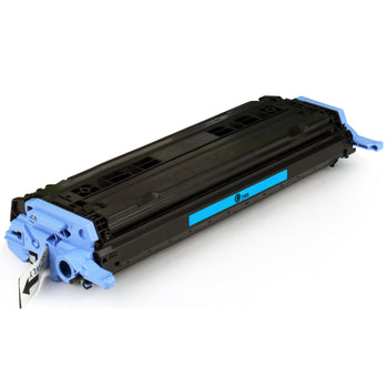 LINKYO Replacement Cyan Toner Cartridge for HP 124A Q6001A