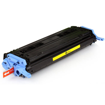 LINKYO Replacement Yellow Toner Cartridge for HP 124A Q6002A