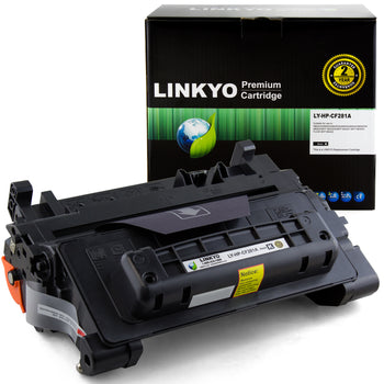 LINKYO Replacement Toner Cartridge for HP 81A CF281A (Black)