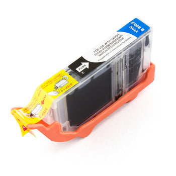 LINKYO Replacement Black Ink Cartridge for Canon CLI-8