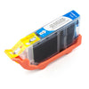 LINKYO Replacement Cyan Ink Cartridge for Canon CLI-8