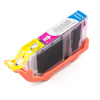 LINKYO Replacement Magenta Ink Cartridge for Canon CLI-8