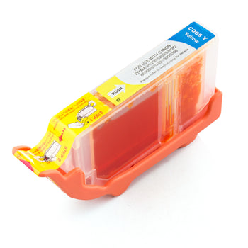 LINKYO Replacement Yellow Ink Cartridge for Canon CLI-8