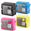 LINKYO Replacement 12-Color Ink Set for Brother LC51 (3x Black, 3x Cyan, 3x Magenta, 3x Yellow)