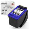 LINKYO Replacement Tri-Color Ink Cartridge for HP 57