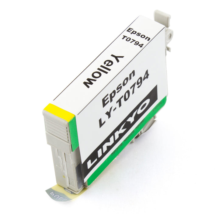 LINKYO Replacement Yellow Ink Cartridge for Epson 79 (T079420)