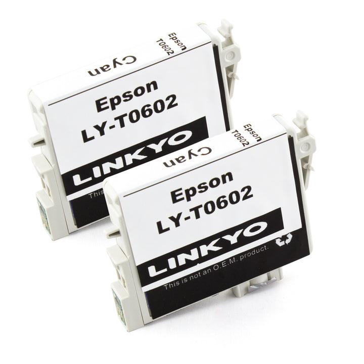 LINKYO Replacement 10-Color Ink Set for Epson 60 (4x Black, 2x Cyan, 2x Magenta, 2x Yellow)