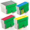 LINKYO Replacement 10-Color Ink Set for Epson 69 (4x Black, 2x Cyan, 2x Magenta, 2x Yellow)