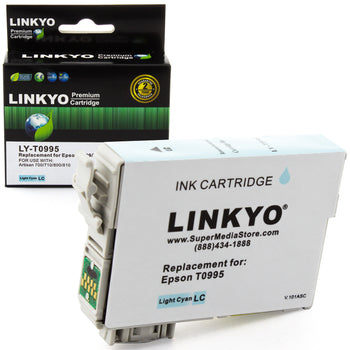 LINKYO Replacement Light Cyan Ink Cartridge for Epson 99 (T099520)