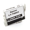 LINKYO Replacement 4-Color Ink Set for Epson 60 (Black, Cyan, Magenta, Yellow)