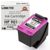 LINKYO Replacement Tri-Color Ink Cartridge for HP 901