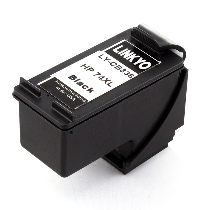 LINKYO Replacement Black Ink Cartridge for HP 74XL