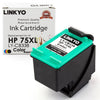 LINKYO Replacement Tri-Color Ink Cartridge for HP 75XL