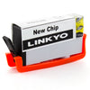 LINKYO Replacement 5-Color Ink Set for HP 564XL (Black, Photo Black, Cyan, Magenta, Yellow)