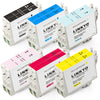 LINKYO Replacement 12-Color Ink Cartridge Set for Epson 48 (2x Black, 2x Cyan, 2x Magenta, 2x Yellow, 2x Light Cyan, 2x Light Magenta)