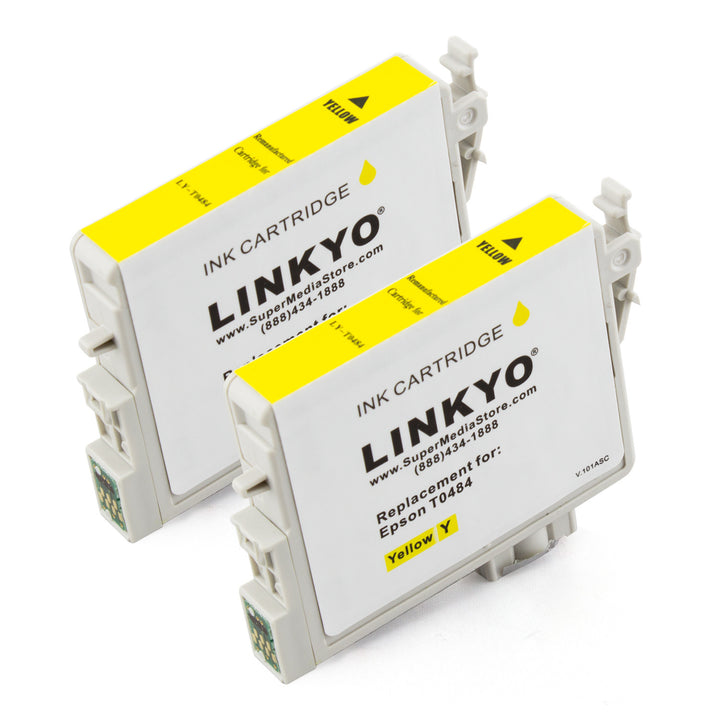 LINKYO Replacement 12-Color Ink Set for Epson 48 (2x Black, 2x Cyan, 2x Magenta, 2x Yellow, 2x Light Cyan, 2x Light Magenta)
