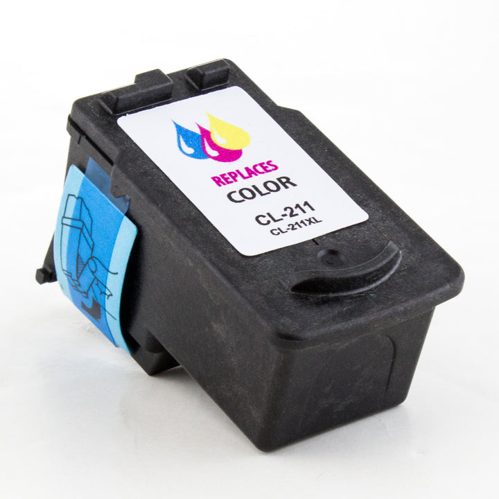 LINKYO Replacement Color Ink Cartridge for Canon CL-211XL