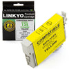 LINKYO Replacement Yellow Ink Cartridge for Epson 125 (T125420)