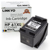 LINKYO Replacement Black Ink Cartridge for HP 61XL