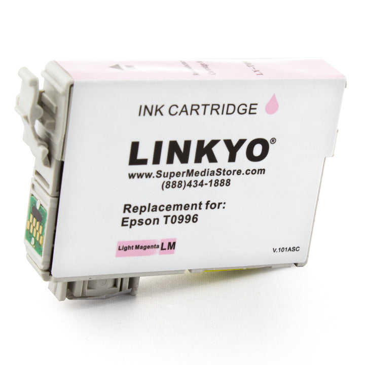 LINKYO Replacement 6-Color Ink Set for Epson 98 99 (Black, Cyan, Magenta, Yellow, Light Cyan, Light Magenta)