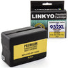 LINKYO Replacement Black Ink Cartridge for HP 932XL