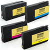 LINKYO Replacement Color Ink Set for HP 950XL 951XL (Black, Cyan, Magenta, Yellow, 4-Pack)