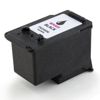 LINKYO Replacement Black Ink Cartridge for Canon PG-240XL