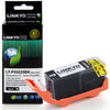 LINKYO Replacement Black Ink Cartridge for Canon 225 (PGI-225)