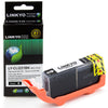 LINKYO Replacement Black Ink Cartridge for Canon CLI-221